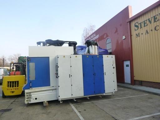 Горизонтально-обрабатывающего центра с ЧПУ HULLER HILLE NBH 230R из Англии в Рязань