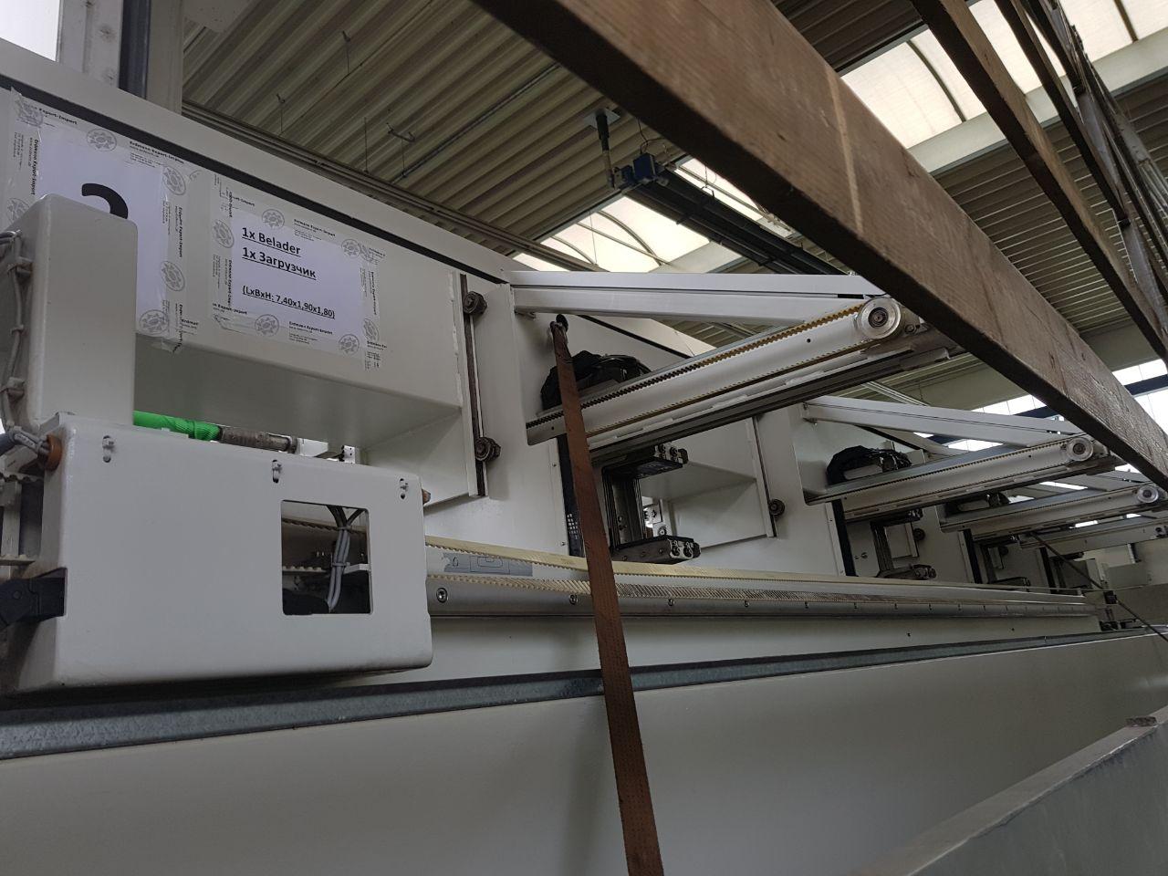 Доставка станка лазерной резки из Германии